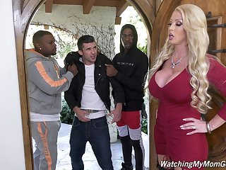 Giant bottomed lifeless MILF Alura Jenson is hammered doggy by black hunk
