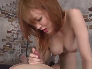 Japanese milf cocksucking plus tribbing