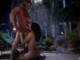 Muscular stud fucks Franchezca Valentina merciless and incorrect