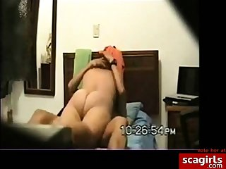 Married team of two hot night sex