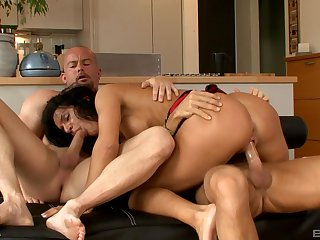 Double orgasms and penetration for dramatize expunge hot fit together