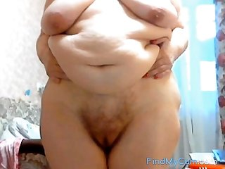 GILF Stefany Thus with big fat belly