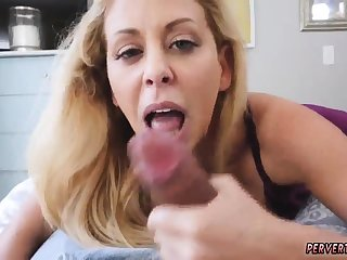 Teen anal substitute for and mom makes breakfast beside robe Cherie
