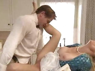 Dirty sailor makes love with blonde matured slut