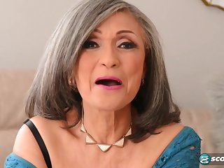 Kokie Del Coco - aged grandma pounded by muscled beam down big cock j-mac